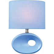 Hennessy II Table Lamp, Blue