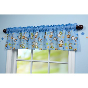 Little Bedding by NoJo Born to Rock Window Valance