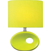 Hennessy II Table Lamp, Green