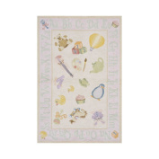 Lil\' Momeni Classic Nursery Collection Area Rug - Soft Pink