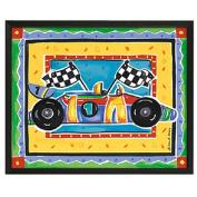 Timeless Frames Race Car Framed Art, 10x8