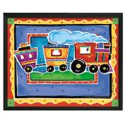 Timeless Frames Train Framed Art, 10x8