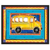 Timeless Frames School Bus Framed Art, 10x8