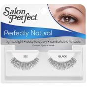 Salon Perfect Perfectly Natural Eyelashes, 202 Black, 1 pr
