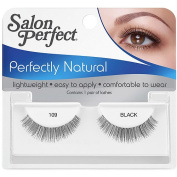 Salon Perfect Perfectly Natural Eyelashes, 109 Black, 1 pr