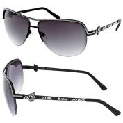Guess GU 7124 BLK 35 Black Sunglasses