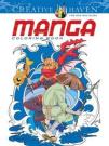 Creative Haven Manga Coloring Book