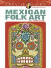 Creative Haven Mexican Folk Art Coloring Book