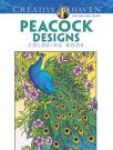 Creative Haven Peacock Designs Coloring Book