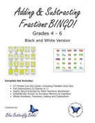 Adding & Subtracting Fractions Bingo!