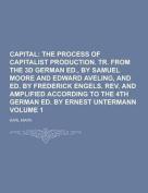 Capital Volume 1