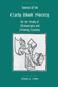 Jnl of the Early Book Society V.16
