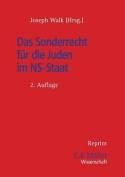 Das Sonderrecht Fur Die Juden Im NS-Staat [GER]
