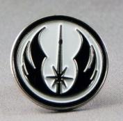 Metal Enamel Pin Badge Brooch Star Wars Order of Jedi Warrior Insignia