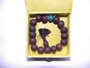 Tibetan Bodhi Seeds Wrist Mala in Friendship Knot Gift Box