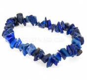 Lapis Lazuli Gemstone Chip Bracelet