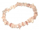 Peach Moonstone Chip Bracelet