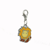 lion steel Charm by Charming Charms