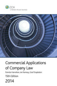 Commercial Applications of Company Law 2014