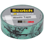 """Expressions Washi Tape, .59"""" x 393"""", Airplane"""