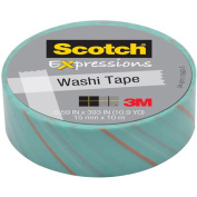 """Expressions Washi Tape, .59"""" x 393"""", Tie"""