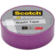"Expressions Washi Tape, .59"" x 393"", Purple"