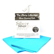 TOC Silver Jewellery Cleaning & Polishing Cloth X 2 - 115mm x 165mm