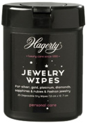 Hagerty Jewellery Wipes - perfect to keep with you or taking on holiday to keep your jewellery sparkling wherever you are!