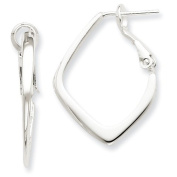 Sterling Silver Clip Back Earrings - JewelryWeb