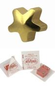 Studex Ear Piercing Gold Plated Plain Star Shape Stud Earrings 4mm