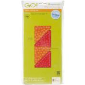 GO! This & That Fabric Cutting Dies-GO! Half Square