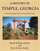 A History of Temple, Georgia