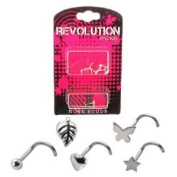 Nose Stud Revolution Pack - Silver Accessories