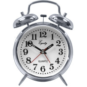 La Crosse Technology Equity Analogue Twin Bell Alarm Clock