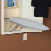 Household Essentials Stow Away Replacement Pad and Cover for In-Wall Ironing Board, Silver Silicone