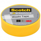 3M C314-ORG Washi Tape . 59 inch x 393 inch - 15mmx10m -Orange