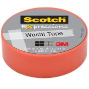 3M C314-PNK2 Washi Tape . 59 inch x 393 inch - 15mmx10m -Pastel Pink