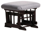 Dutailier Ultramotion Espresso / Dark Grey Gliding Ottoman for Sleigh and 2-Post Gliders