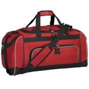 60cm Duffel with Wet Shoe Pocket, Red