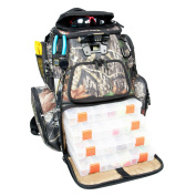 Wild River Nomad Mossy Oak Tackle Tek Lighted Backpack with Tray