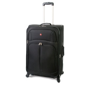 SwissAlps Luggage Spinner, Black