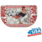Mainstays Rooster Printed Slice Kitchen Mat