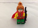 Batman hero chick mini figure, Robin Girl custom machine printed on Lego. (RobinGirl TradeMark by Lego