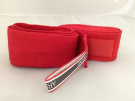 Pair Red Cotton Sports Boxing Hand Wrist Wrap Bandages