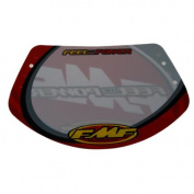 FMF BMX Racing Race Number Plate Large w/Fastener