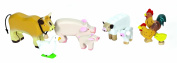 Le Toy Van TV890 Budkins Farm Animals Set