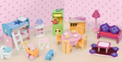 Le Toy Van Daisylane Deluxe Starter Furniture Set