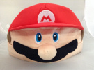 Super Mario Bros Kawaii Hat Rave Beanie Cap Furry Plush Cosplay Mario Face Hat