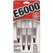 Eclectic E-6000 Multi-Purpose Adhesive, 5ml, 4/pkg