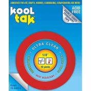 Kool Tak Kool Tak Ultra Clear Tape, .60cm x 16yds